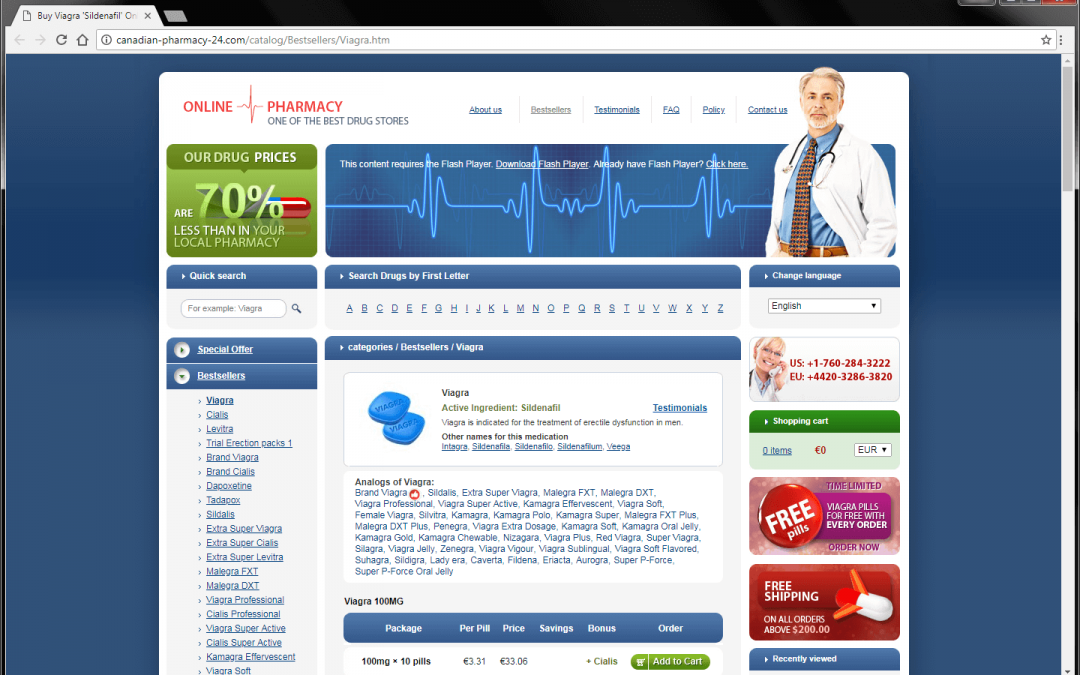 How To Identify That Your Website Hacked for Pharma Spam