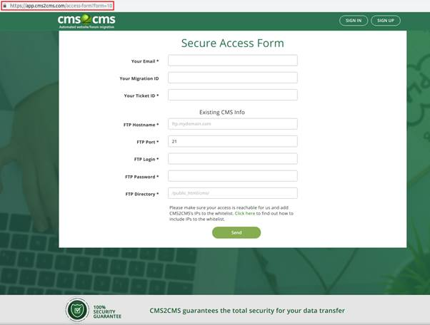 The Security Precautions One Should Take When Migrating A CMS