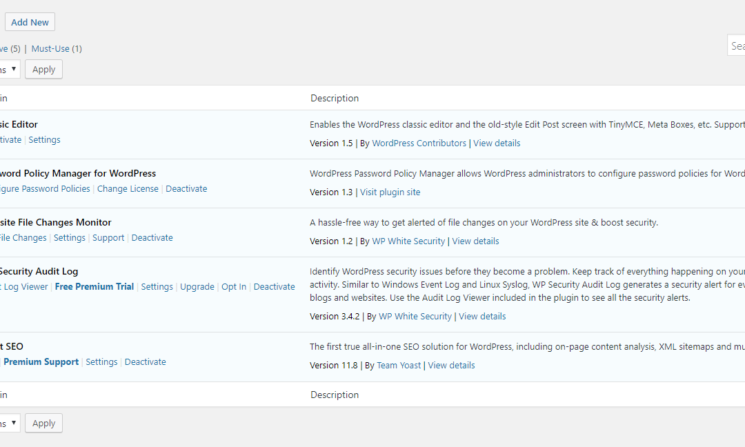 How to Manually Deactivate WordPress Plugins