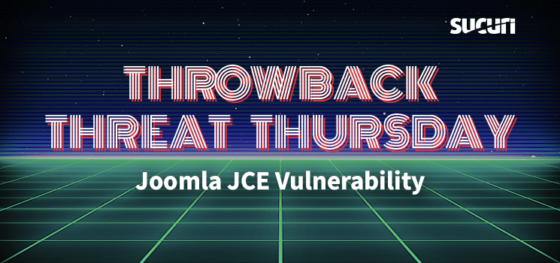 Throwback Threat Thursday: JCE Vulnerability