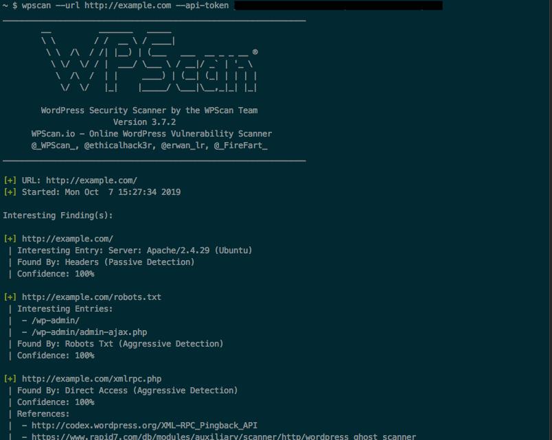 Using WPScan to find WordPress vulnerabilities on your website